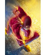 DC The Flash Glossy Print 11 x 17 In Hard Plastic Sleeve - $24.99