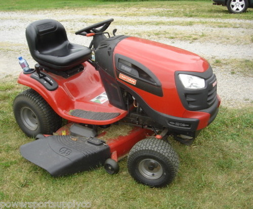 craftsman 2 lawn tractor manual