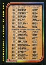 1997 Bowman Checklist Series Two 4  - $1.00