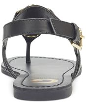 G by Guess Women's Premium Designer Slip On Flat Sandals Lesha Black image 3