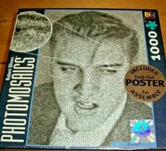 Elvis Presley Jigsaw Puzzle 1000 Pcs Photos Art Collage Digital Photomos... - $16.82