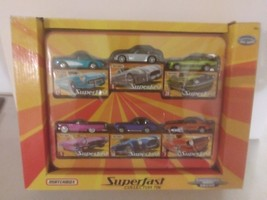 Matchbox 2005 Superfast Collector Tin Gift Set Limited Edition - $59.99