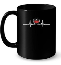 Vintage Heartbeat made in 1969 49th Birthday Gift 49 Years Gift Coffee Mug - $13.99+