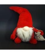 Santa Claus Gnome Large 14 Inch Stuffed Plush Christmas XMAS Holiday Tom... - $28.88
