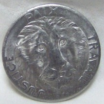 LION HEAD FIRST COIN OF CONGO 10 FRANC 1965 uncirculated - $21.55