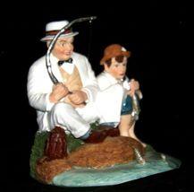 """Fishing"" by Norman Rockwell Figurine AA19-1655 Vintage image 7"