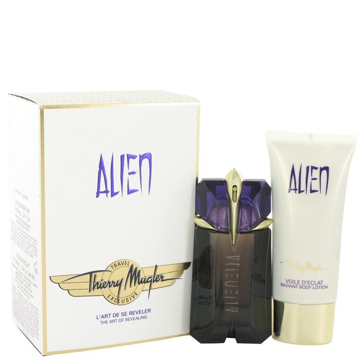 Thierry Mugler Alien 2.0 Oz EDP Spray + Body Lotion 3.4 Oz 2 Pcs Gift Set image 5