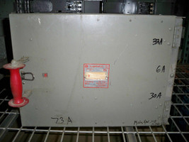 Frank Adam KLAMPSWFUZ S33KSF40333 400A 3p 240V Fused Panelboard Switch Used - $2,000.00