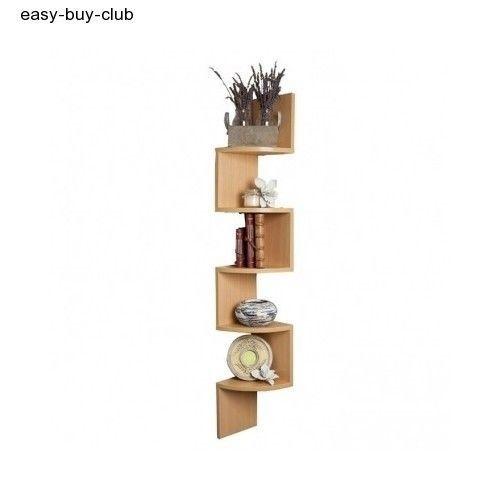 Decorative Wall Corner Shelf : Wall corner shelf display home decor rack storage