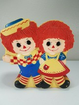 Raggedy Ann & Andy Talking Bank - Janex 1977 - $10.00