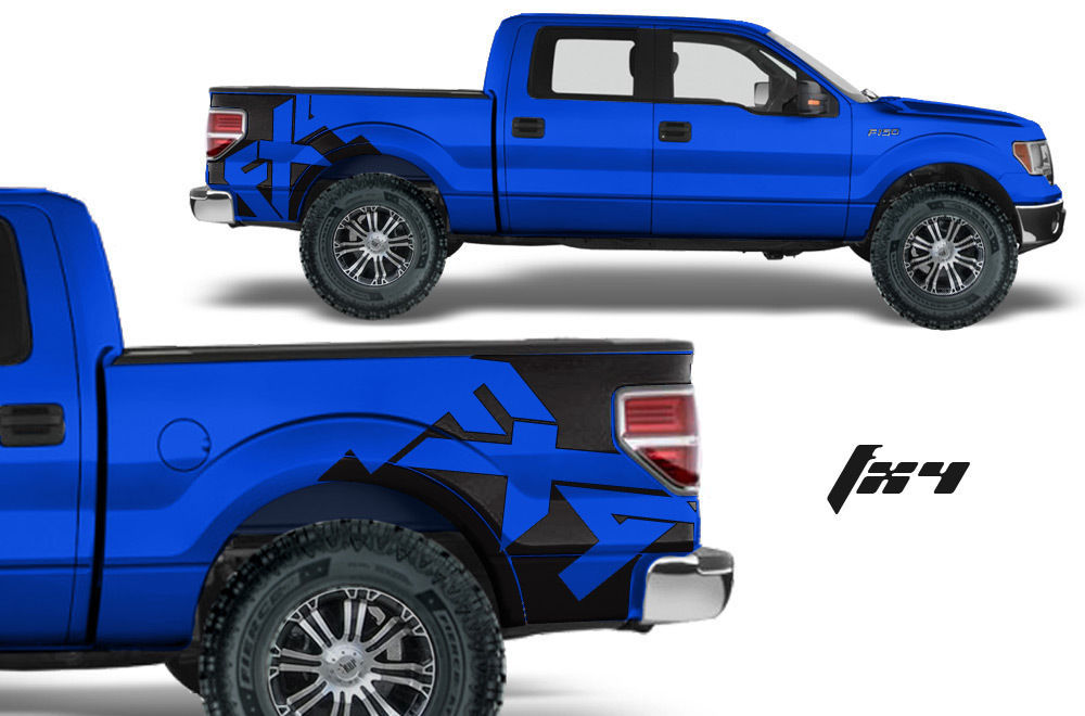 Ford f150 truck fender bed graphics vinyl and similar items 57