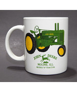 John Deere Model A Tractor Licensed Coffee Mug Cup Moline ILL 12 ounces - $8.99
