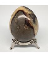 """343.1g, 2.8""""x2.3"""" Natural Polished Septarian Egg, gemstones @Madagascar,... - $20.64"""