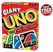 Giant Uno Playing Cards Family Party Fun Games Friends Jumbo King Size C... - $26.14