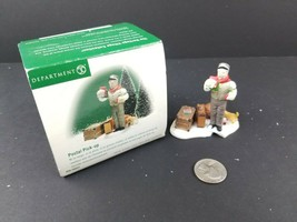 Dept 56 Postal Pick-up 56641 Village Series BROKEN - $8.92