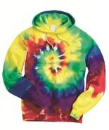 Tie-Dye Multi-Color Rainbow Spiral Pullover Hooded Sweatshirt S-3XL 854MS - $28.49 - $33.24