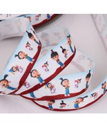 "CUTE AGNES DESPICABLE ME Grosgrain Ribbon 1""25mm/DIY Hair Bows/5 YARDS - $4.95"