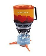 Jetboil MiniMo Sunset Camping Cooking Stove Oven BBQ Outdoor Fire Replac... - $171.54