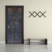 New 3D DIY PVC Waterproof Door Wall Sticker China Vintage Log qd011 - $22.05