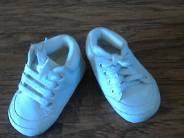 Carter's baby boy's white shoes size 6-9 mos - $2.00