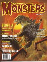 Famous Monsters Of Filmland #274 Godzilla Generations 60 yrs Eiji Tsuburaya - $21.95