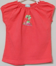 Girls Toddler Circo Tangerine Cap Sleeve Top Size 4T - $3.95