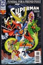 Superman #83 : On the Edge (Funeral for a Friend Epilogue - DC Comics) [... - $3.91