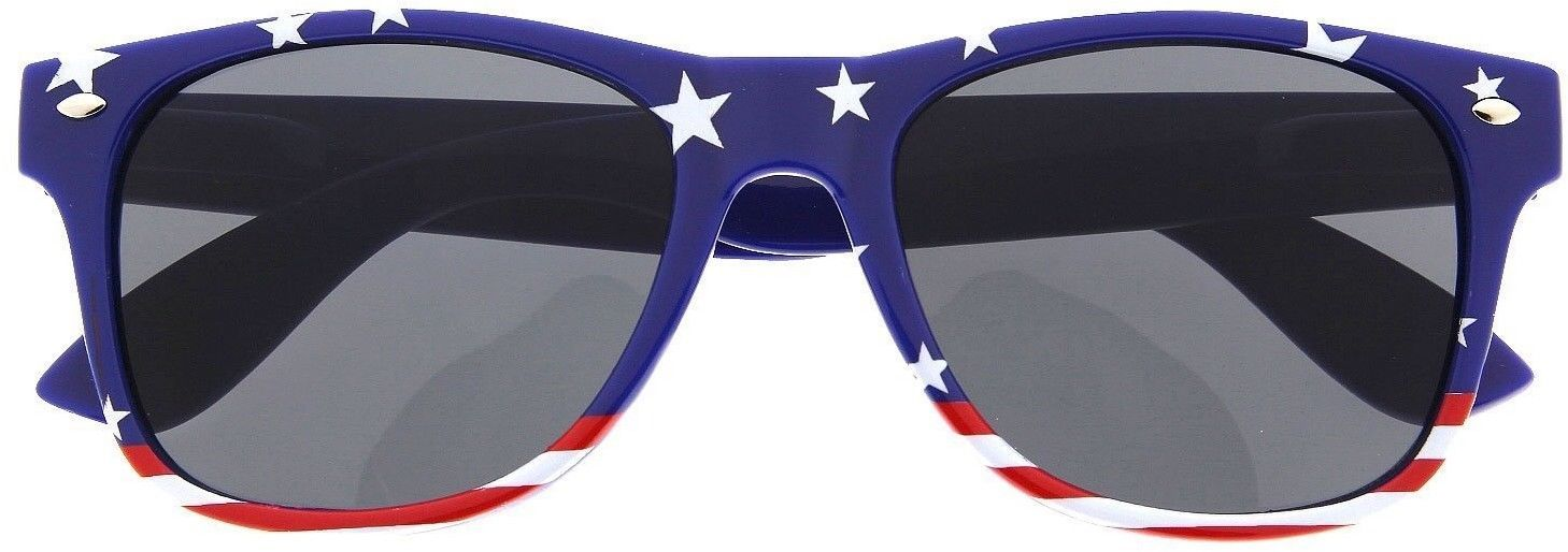 GrinderPUNCH USA American Flag Sunglasses Stars And Stripes