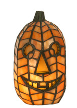 "Meyda Home Indoor Decoratives 8.5""H Jack O'Lantern Accent Lamp- 1235-68100 - $234.00"