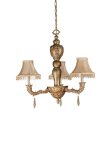 "Meyda Home Indoor Decoratives 31""W Monticello 3 Lt Chandelier- 1235-69563 - $261.00"