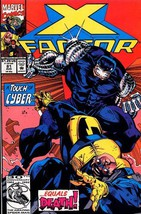 X Factor : 81 August 1992 : A Touch of Cyber [C... - $3.91