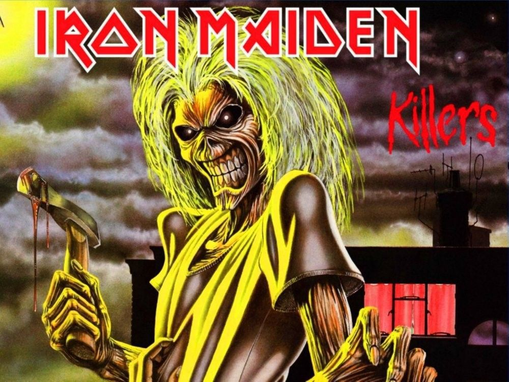 Custom Music Iron Maiden Fleece Blanket Xl 60 Quot X50