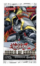 YuGiOh Order of Chaos Booster Pack [Toy] - $37,15 MXN