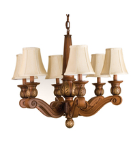 "Meyda Home Indoor Decoratives 34""W Kendall 6 Lt Chandelier- 1235-71471 - $585.00"
