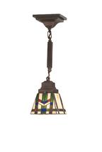 "Meyda Home Indoor Decoratives 5""Sq Prairie Wheat Mini Pendant- 1235-71618 - €209,98 EUR"