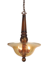 """Meyda Home Indoor Decoratives 20""""W Kendall Inverted Pendant- 1235-71465 - £216.06 GBP"""