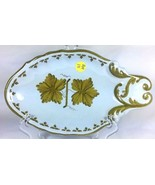 AMM Vineyards Italian Pottery Cheese Appetizer Serving Dish Plate  - $50.13