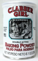 Clabber Girl Double Acting Baking Powder 8.1 oz - $4.69