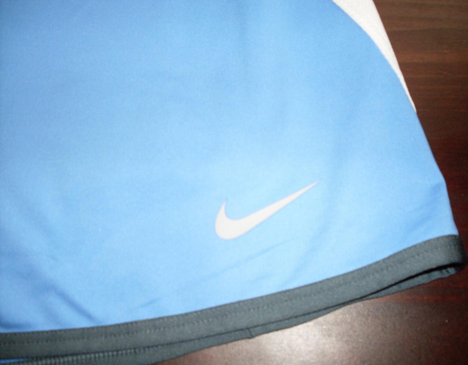 Nike Women Sporty Skirt Tennis Skort Blue Size XS Dri-Fit