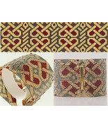 Loom Bead Pattern - Celtic Hearts Cuff Bracelet - $4.00