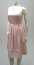 Pink Satin Dress, 50s Style Cocktail Party Isaac Mizrahi Dress - $24.99