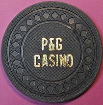 $100 Vintage Casino Chip. P&G Casino, Petaluma, CA. 1993. Q33. - $35.00