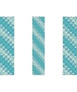 3 Peyote Patterns - Oceans Squared Cuff Bracelets, 3 Variations For Pric... - $4.00