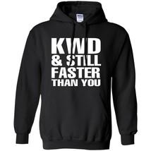 Fwd & Still Faster Than You Street Drag Racing Funny Black Navy Print Ho... - $39.55