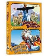 Sonrisas Y Lagrimas Chitty Chitty Bang Bang Dvd Sound Of Music Spanish E... - $18.99