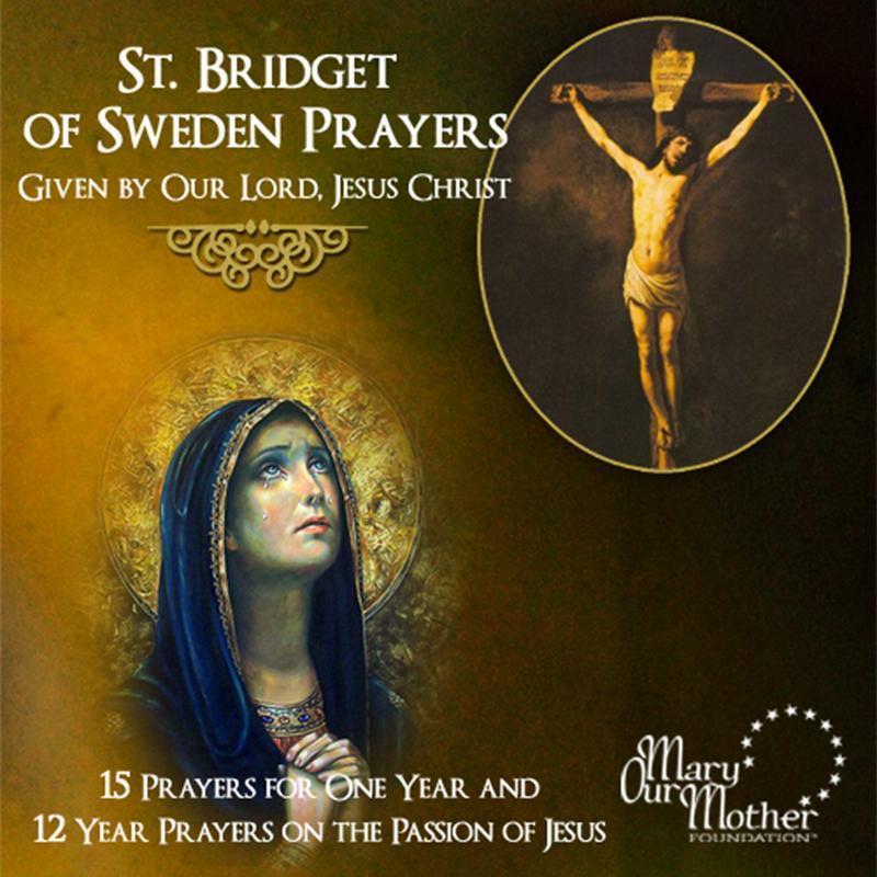 St. bridget of sweden prayers   cd