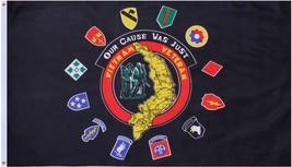 Vietnam Veteran Our Cause Was Just 3' x 5' Flag - $9.99