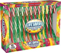 LifeSavers 5 Flavors Assorted Candy Canes, 12 ct - $6.99
