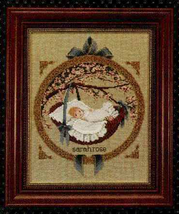 Primary image for New Baby cross stitch chart Butternut Road Marilyn Leavitt-Imblum