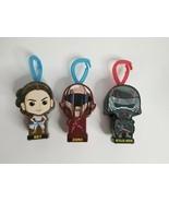 Lot of 3 MCDONALD'S Star Wars Keychains Rey Kylo Ren Zorii Happy Meal Toys  - $5.99